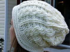 Northern Lights Beanie Crochet Pattern with Written and Pictorial Instructions - Instant Download! Awesome up-comer! Gotta check this out.