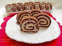 Este minunata aceasta rulada de biscuiti cu mascarpone si nuca de cocos si de mare efect! Simplu de preparat si cu ingrediente putine. Romanian Desserts, Something Sweet, Coco, Biscuit, Sweet Treats, Deserts, Muffin, Goodies, Rolls