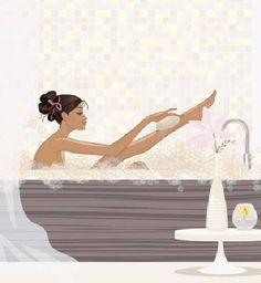 laminas para cuadros cuarto de baño - Buscar con Google