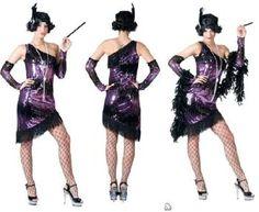 Robe charleston avec paillettes idéale pour une soirée cabaret