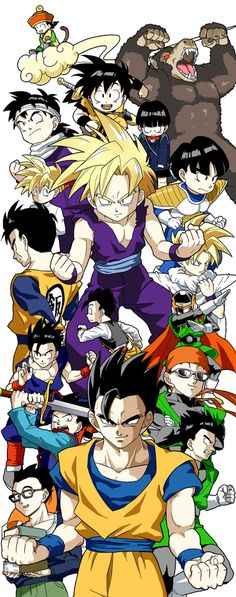 Gokus son is awsome - Visit now for 3D Dragon Ball Z shirts now on sale!