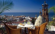 Hacienda San Angel in Puerto Vallarta Mexico is a quaint boutique hotel that brings charm, elegance and the beauty of the city all in one.
