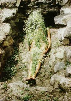 Ana Mendieta Imagen de Yagul, 1973 Lifetime color photograph © The Estate of Ana Mendieta Collection, courtesy Galerie Lelong, New York Psych, Aliens, Frieze Magazine, Marguerite Duras, New York Art, Feminist Art, Tree Of Life, Art History, Nature