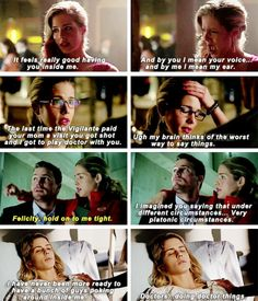 Felicity Smoak & her glorious euphemisms #Arrow #4x10