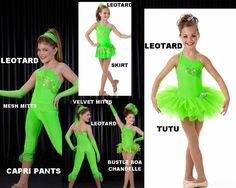 $6.88 - Limited Sizes Who Says Mix Match Pieces Ballet Dance Costume Option Size Choice | eBay