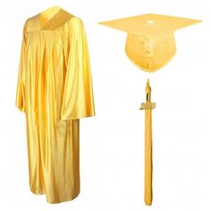 Class Act Graduation Youth Shiny Graduation Cap and Solid Color Tassel with 2020