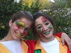 Resultado de imagen para murgas argentinas maquillaje