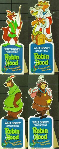 MovieArt Original Film Posters - ROBIN HOOD (1973) 20326, $495.00 (http://www.movieart.com/robin-hood-1973-20326/)