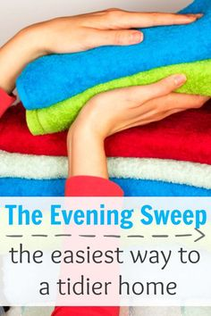 Have a messy home that is driving you nuts? Here is an easy routine to add to your evenings that'll help transform your home. It's quick and easy and a great tip for moms, particularly with little ones.