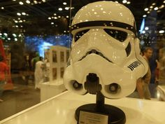 Storm Trooper Helmet at Middle East Film and Comic Con 2015