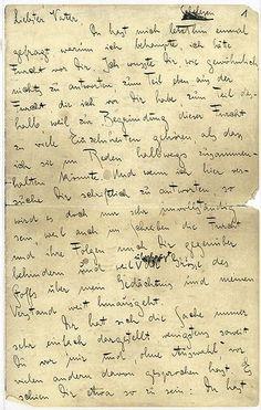 Franz Kafka: Brief an den Vater. Faksimile. Herausgegeben und mit einem Nachwort von Joachim Unseld. (Carta al padre de Franz Kafka) Publicada por:Fischer-Taschenbuch-Verlag