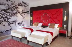 Club Med Guilin - China - Moderne kamer in lokale kleuren