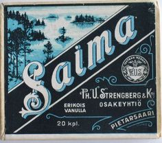 Old Finnish Tobacco, Made in Pietarsaari, Retro Ads, Vintage Ads, Vintage Posters, History Of Finland, Map Pictures, Old Ads, Ancient History, Nostalgia, Old Things