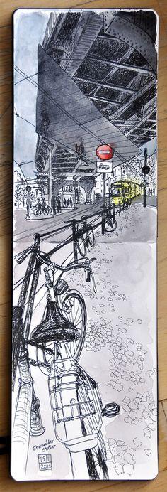 Under the U2, Eberswalder station, Berlin-Prenzlauer Berg   Flickr - Photo Sharing!