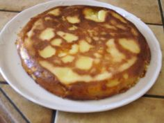 flognarde+auvergnate+aux+poires Dessert Recipes, Fruit, Breakfast, Sweet, Food, Biscuits, Travel, Auvergne, Sweet Recipes