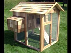 Find inspiration for your chicken digs by taking a look at these urban chicken coops.