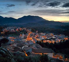 Landscape by night (photo credit to Christian Mastrolorenzo)