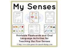 five sense worksheet: NEW 466 FIVE SENSES OBSERVATION ...