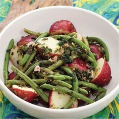 Roasted Red Potatoes and Green Beans