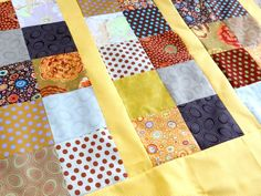 Learn how to make a quilt series. Piecing a quilt is today! Keep your seam allowance consistent and chain piece for a quick finish.