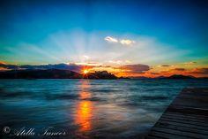 Good evening from winter #Calis Beach, #Fethiye, #Turkey