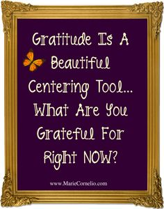 Gratitude........Gratitude is a beautiful heart centering tool. What are you grateful for right now?