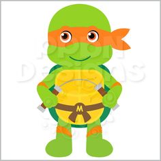 PPbN Designs - Mikey Ninja (Free for Deluxe Members Only), $0.00 (http://www.ppbndesigns.com/products/mikey-ninja-free-for-deluxe-members-only.html)