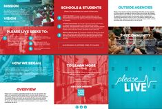 Informational brochure about Please Live, Inc.