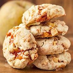 Cookies with apples and fudge Sweet Recipes, Cake Recipes, Dessert Recipes, Desserts, Cooking Time, Cooking Recipes, My Favorite Food, Favorite Recipes, Bakers Gonna Bake
