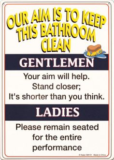 Bathroom Rules- kinda want them in my main bathroom!!!!