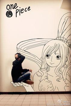 Gaikuo-Captain Draws Realistic Comic Illustrations and Artwork One Piece Manga, Paper Child, Perspective Art, Fandom, Cute Images, Manga Comics, Creative Design, Comic Art, Illustrators