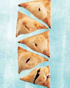 Blueberry-Cream Cheese Hand Pies - These hand pies travel well, perfect for tucking into picnic baskets or taking to summer barbecue potlucks.