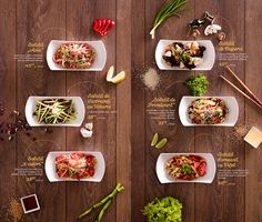 Asian House / Menu & Key Visual on Behance