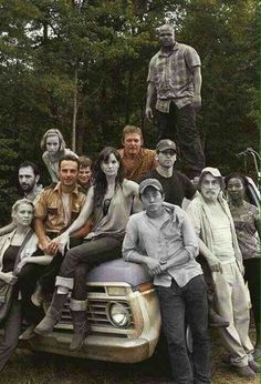 It breaks my heart to see Glenn in black and white, here.