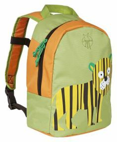 4744e785ba Lassig Wildlife Mini Backpack - Tiger Back To School Backpacks