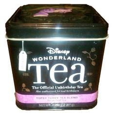Mouse over image to zoom  Have one to sell? Sell it yourself  Disney Alice In Wonderland Topsy Turvy Blend Loose Leaf Tea Cheshire Cat Tin $17.49