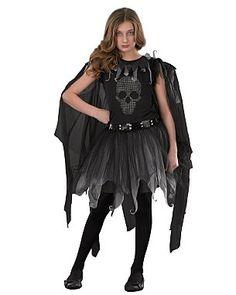 Teen Fallen Angel Fancy Dress Costume