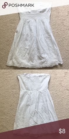 577448a3fc6 Speechless white strapless dress Very cute Speechless dress size juniors 3  fits a womens xs or