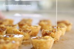 Holy yumminess! Gluten-Free Salted Caramel Apple Pie Bites