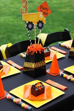 Construction Party Planning Ideas Supplies Ideas Cake Decorations