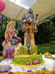repunzel cake- my birthday is coming up!!