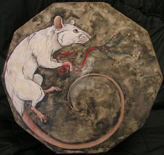 Rat drum by FafnirsHeart on DeviantArt