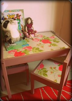 DIY - IKEA kids' table hack