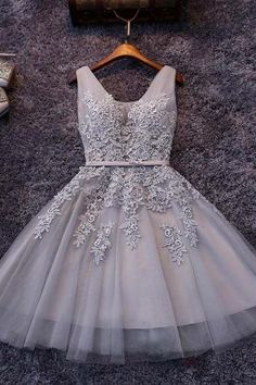 Homecoming Dresses,Tulle Homecoming Dresses,Appliqued Homecoming Dresses,Short Homecoming Dress,Lace Homecoming Dresses,Sweetheart Homecoming Dresses