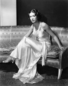 Eleanor Powell, wearing gorgeous satin gown 1930s  (by EmMe09)