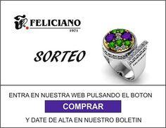 Entra en nuestra web http://www.felicianojoyeros.com   y date de alta en nuestro boletín, así podrás participar en el sorteo de este anillo de plata.