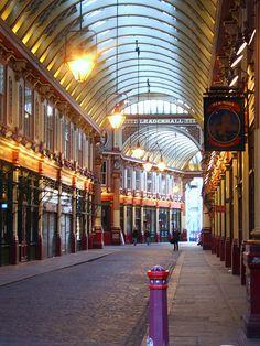 leadenhall market ,London