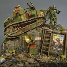 Here is a collection of some of my favorite WWI figures and dioramas in several different scales. A Daily Dose for 04june2014 from the Mich...