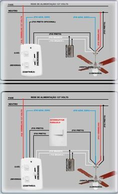 Bathroom Exhaust Fan With Light Wiring Diagram 2001 Pontiac Montana Engine Ceiling 1 For The Home Pinterest Ventilador Electrical Layout Plan Engineering 3 Way Switch
