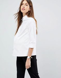Discover the latest maternity and pregnancy clothing with ASOS. Shop for maternity dresses, maternity tops, maternity lingerie & maternity going-out clothes. Asos Maternity, Maternity Tops, Maternity Fashion, Winter Outfit For Teen Girls, Winter Outfits For Work, Maternity Work Clothes, Cute Outfits With Leggings, Nursing Wear, Nursing Clothes